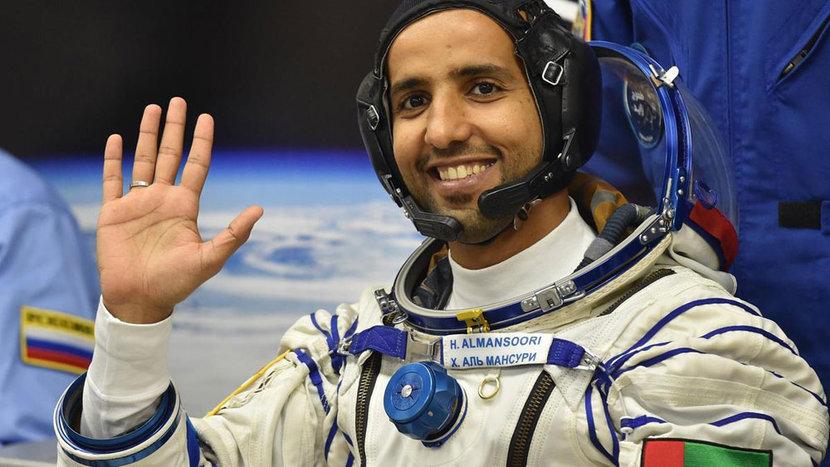 HAzza Al Mansouri, Space