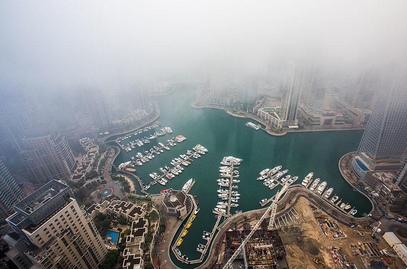 Rain, Dubai weather