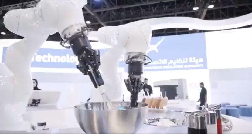 GITEX technology week, Robot