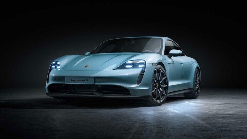 Porsche, Taycan, Electric vehicles