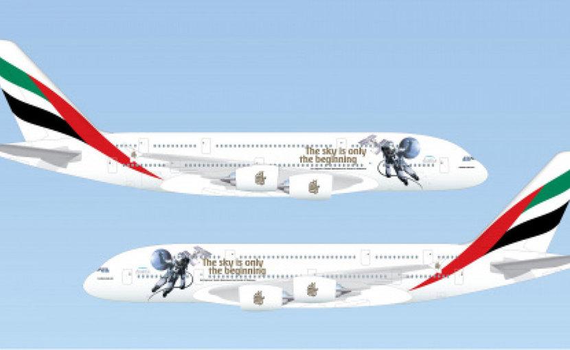 HAzza Al Mansouri, Emirates Airlines, Airbus A380