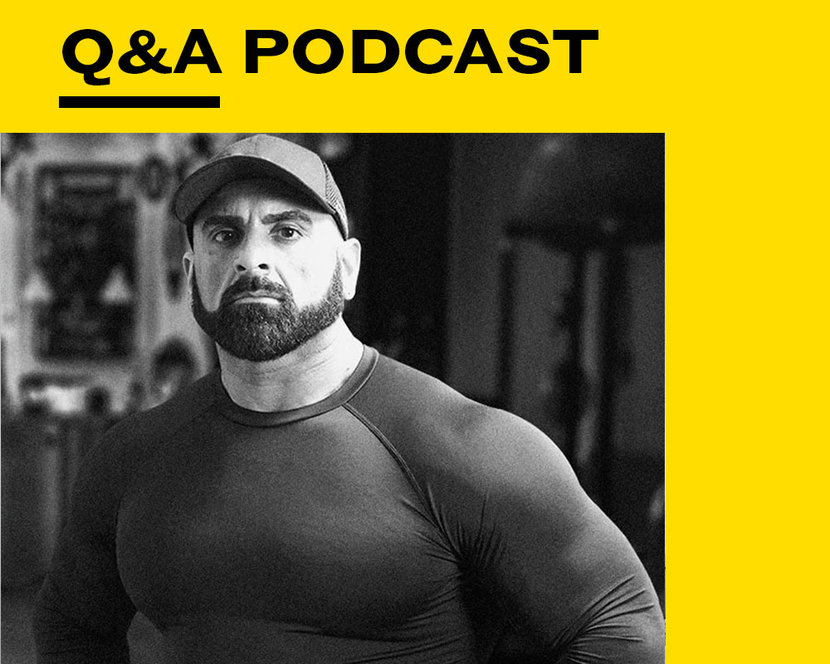Esquire Q&A, Esquire Podcast, Amir Siddiqui, Fitness, Personal trainer
