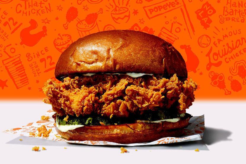 Popeyes, Chicken, Fried chicken, Fast food