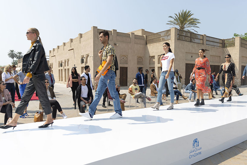 Taking place on October 10, the Dubai-based activation was the first-ever fashion show available to watch on Google Street View.