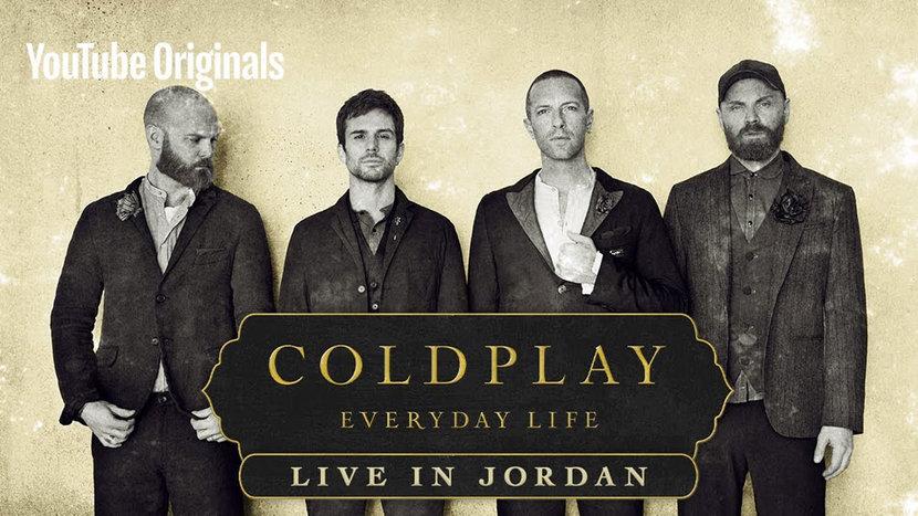 Coldplay, Jordan