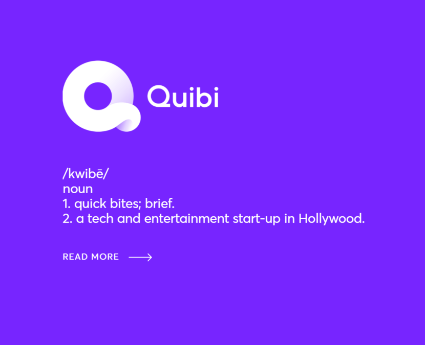 Quibi, Streaming, TV, Cinema