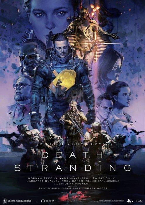 Death Stranding, Hideo Kojima, Metal Gear Solid, Video games