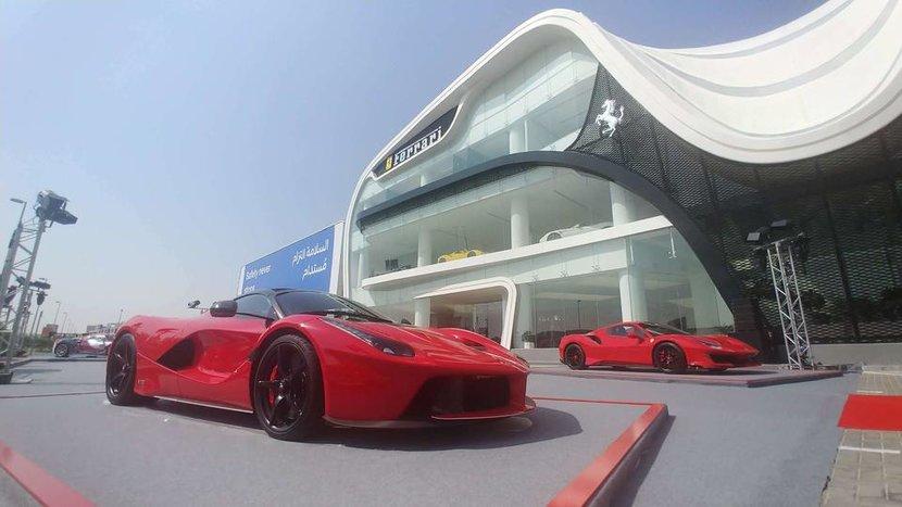 Ferrari, Dubai