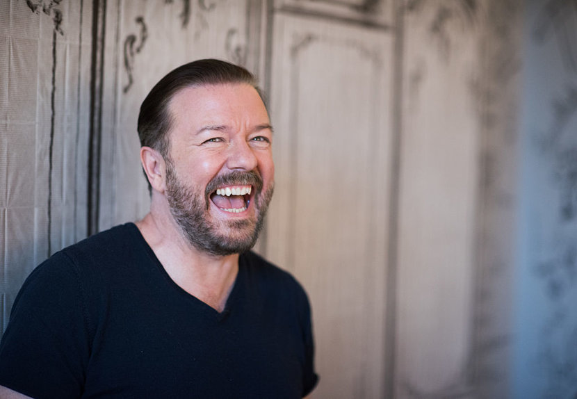 Ricky Gervais, GOlden Globes, Cinema, TV
