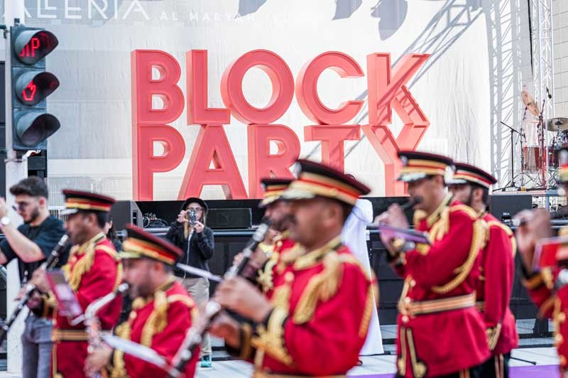 Block Party Galleria MallAl Maryah Island Abu Dhabi United Arab Emirates 15112019Photo by Fritz John AsuroITP Images