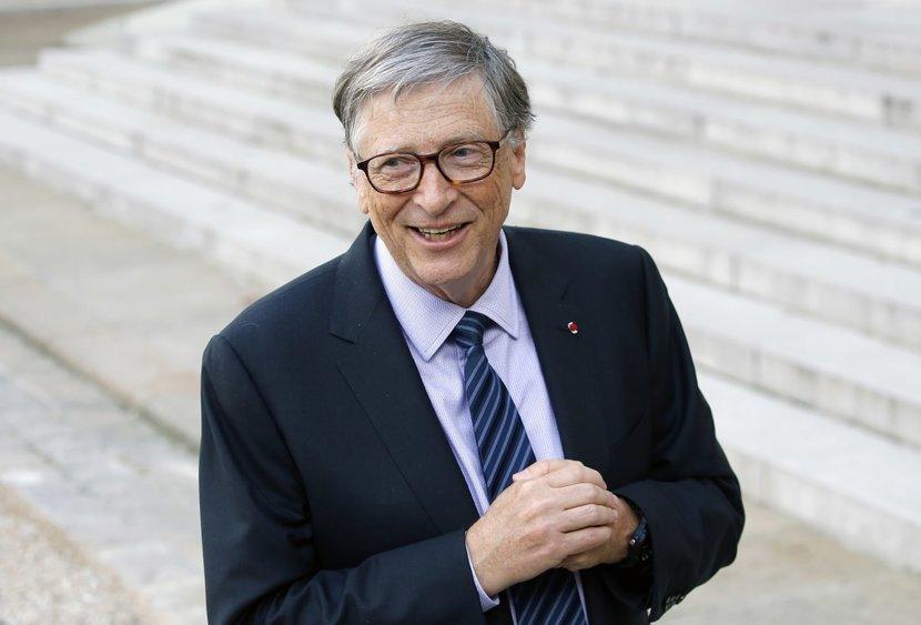 Bill Gates, Jeff Bezos, Microsoft, Amazon