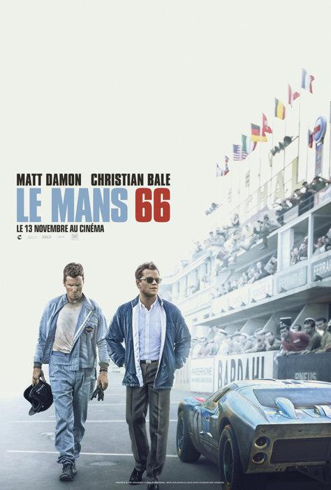 Matt Damon, Christian bale, Ford v Ferrari