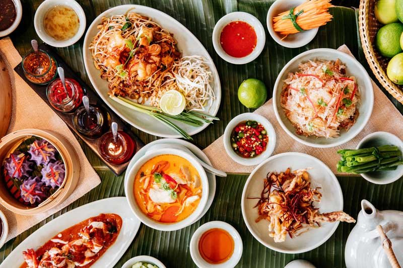 Thai Kitchen, The Park Hyatt, Review, Restaurant, Dubai