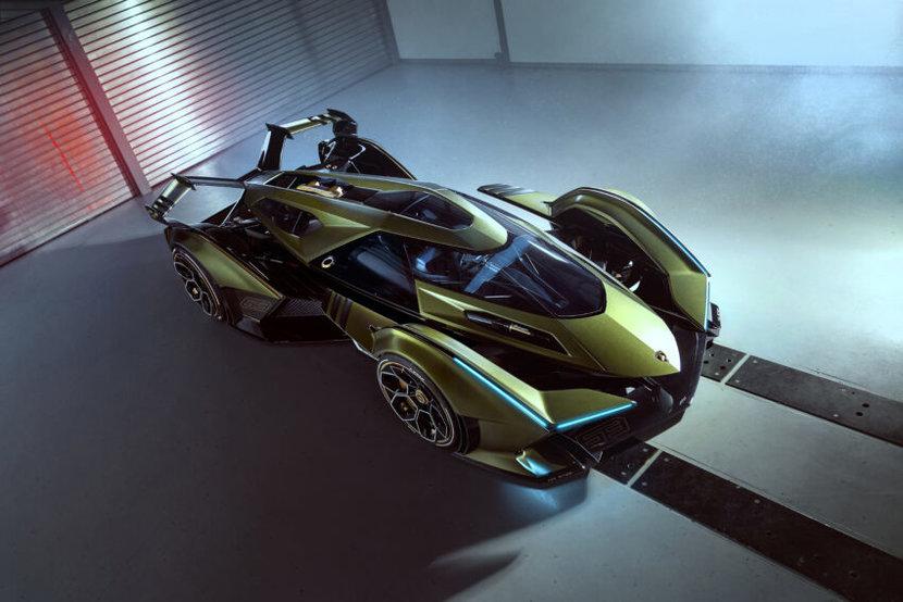 Lamborghini, V12 Vision GT