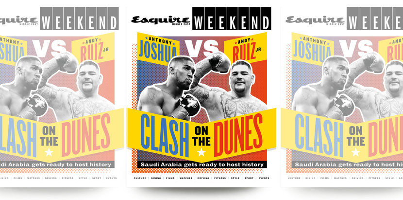 Joshua and Ruiz will face off during the Clash of the Dunes