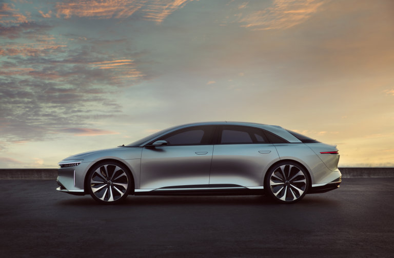 Lucid Motors, Tesla, Cars