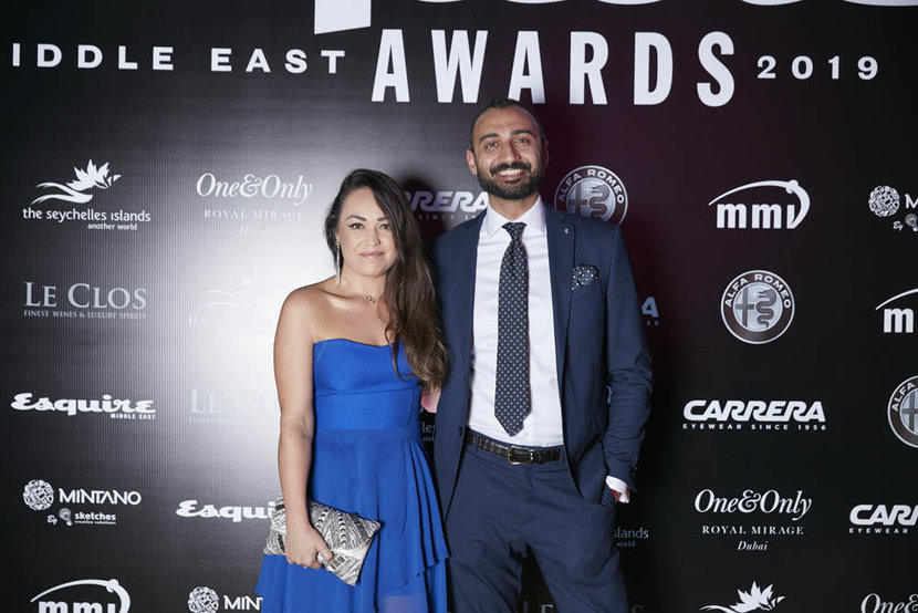 _ Esquire Awards _ ESQ_Dubai United Arab Emirates October 2 2019 Photo by Mohammad Adel RashidITP Images