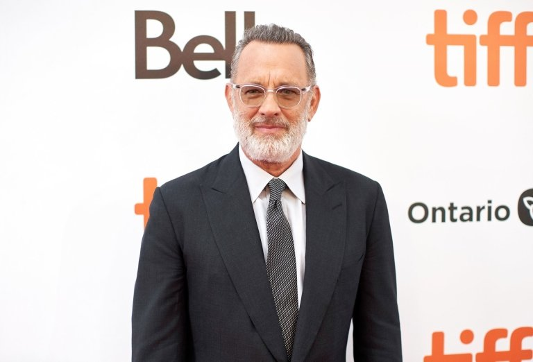 Actor Tom Hanks arrives for the premiere of A Beautiful Day in the Neighborhood during the 2019 Toronto International Film Festival Day 3 on September 7 2019 in Toronto Ontario Photo by Geoff Robins  AFP