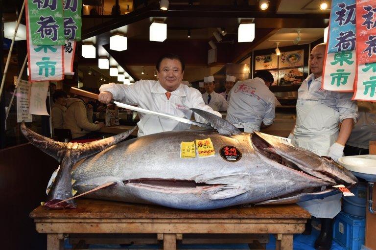 Tuna King, Tuna, Kiyoshi Kimura, Food