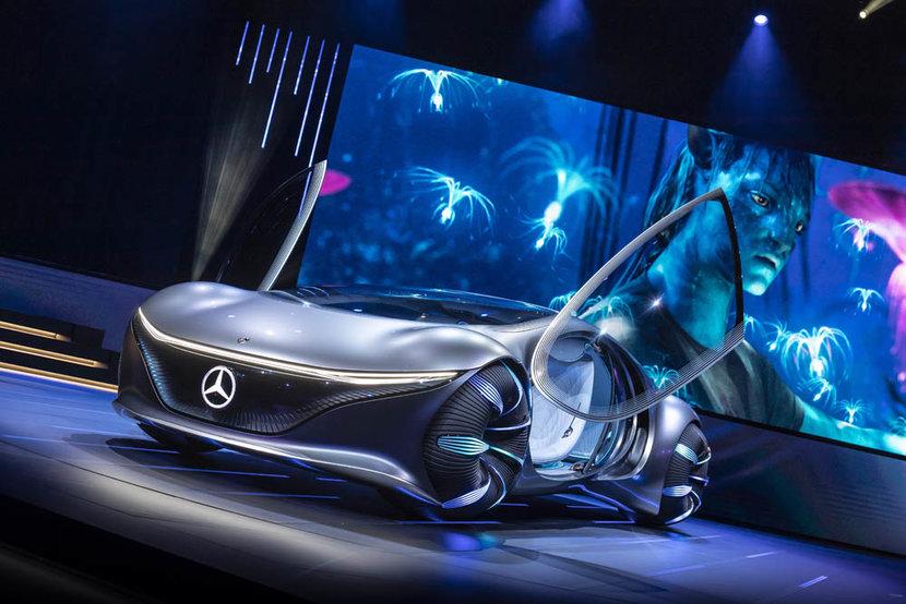 Mercedes-Benz, Avatar, Concept cars, Cars, CES