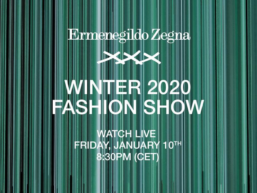 Zegna, Ermenegildo Zegna, Fall/winter 2020, Style
