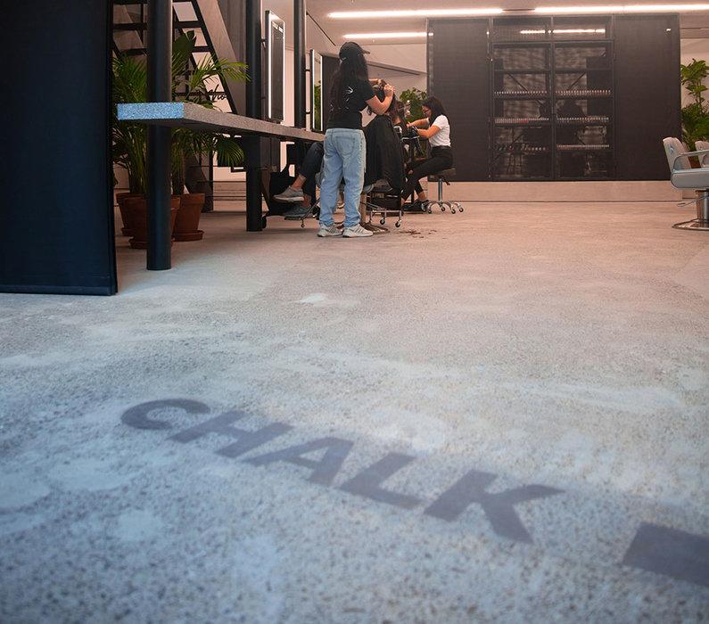 Chalk, Barbershop, Grooming, Alserkal avenue