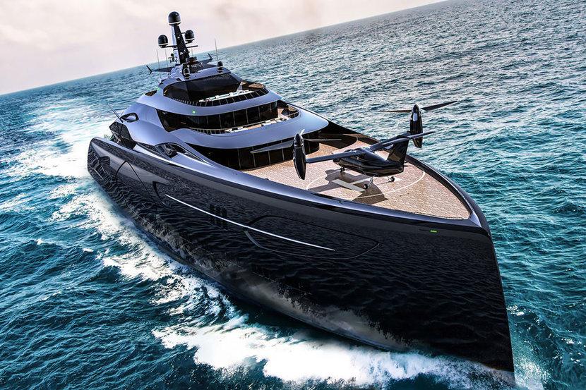 Mega Yacht, Yachts, Project Centauro, Officina Armare
