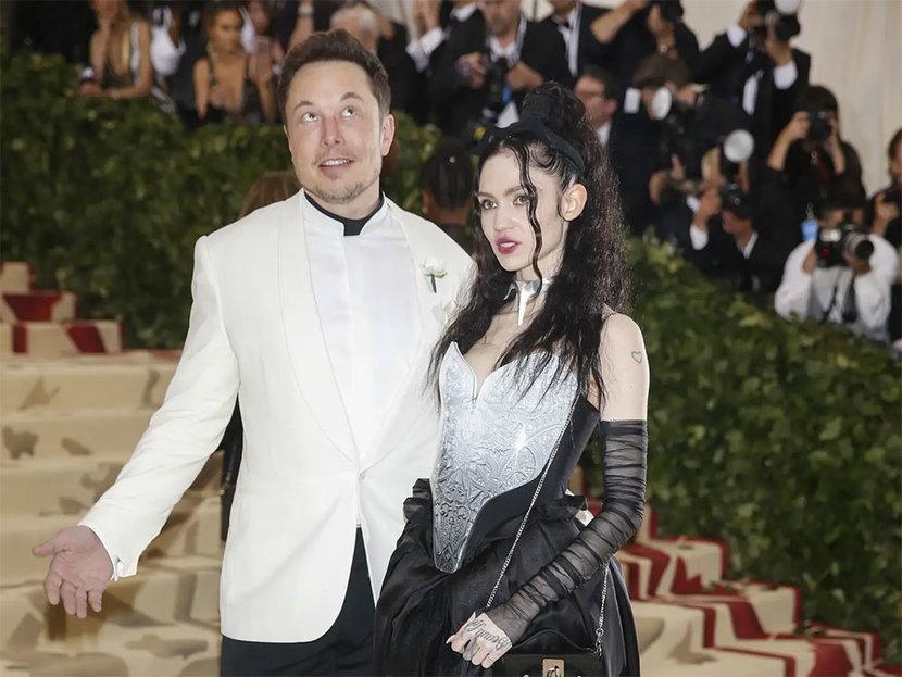 Elon musk, Grimes, Celebrity, Tesla