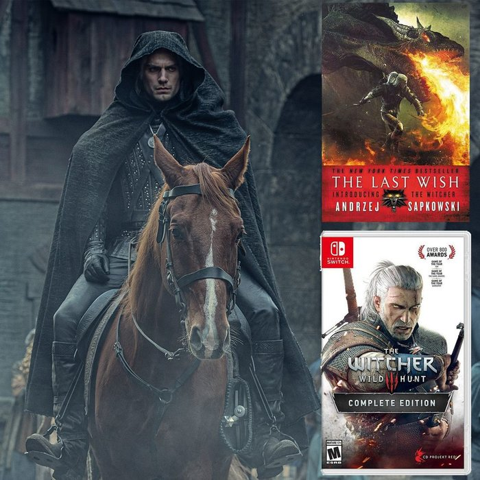 The Witcher, Netflix, The Witcher 3, TV, Videogames