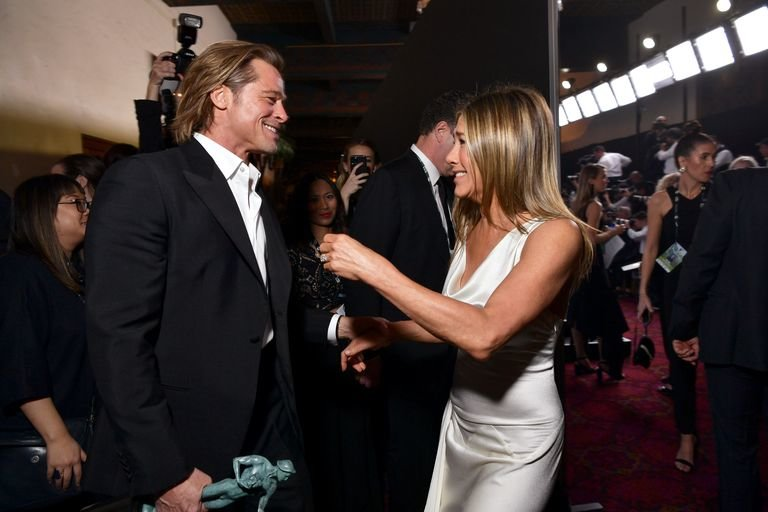 Celebrity, Celebrity Style, Brad Pitt, Jennifer aniston, SAG Awards, Film