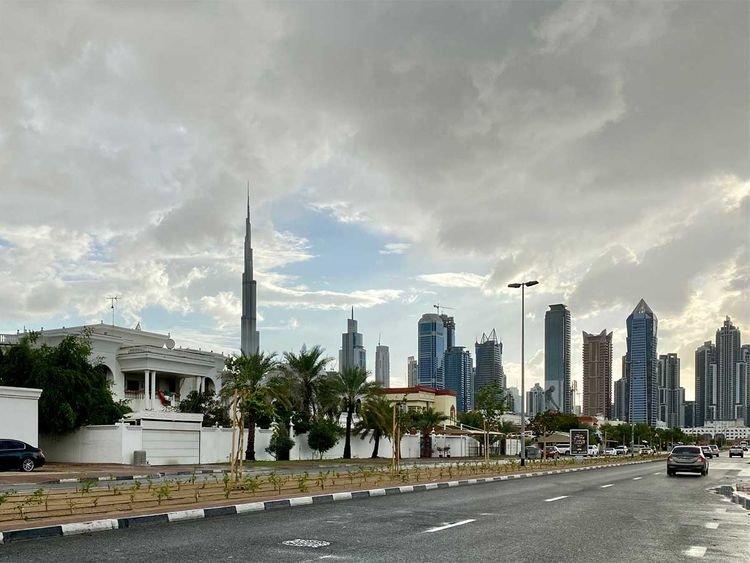 Weather, UAE, Dubai, Rain
