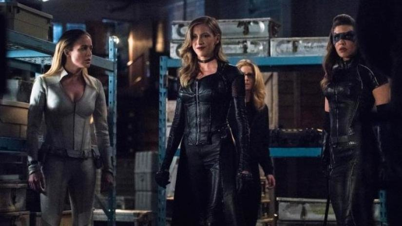 Green Arrow and the Canaries, The CW, TV, Arrow