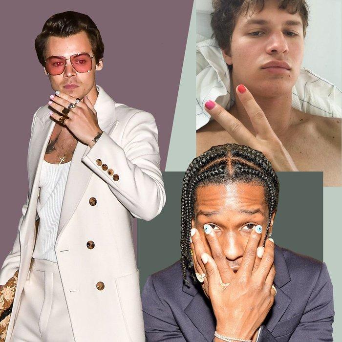 Menicure, Manicure, Nail Polish, Style, Celebrity Style