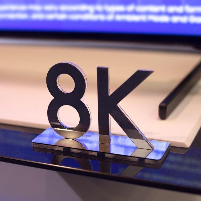 8K TVs, Televisions, TV, Sony, Samsung, Panasonic
