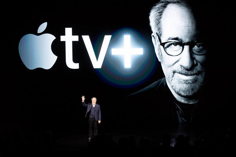Apple, Apple tv+, Spotify, Podcasts, Netflix, Hulu, Amazon, Prime TV