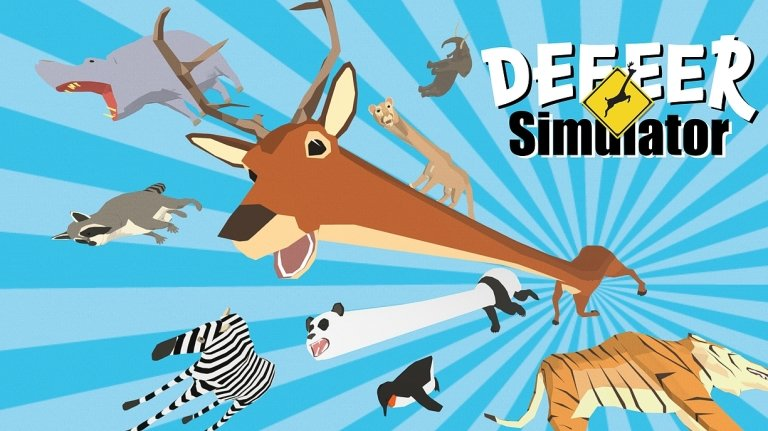 Deeeer Simulator, Videogames, Steam, Early Access