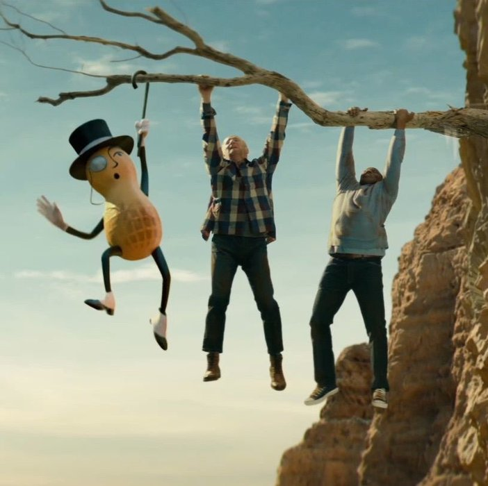 Mr Peanut, Advertising, Super bowl