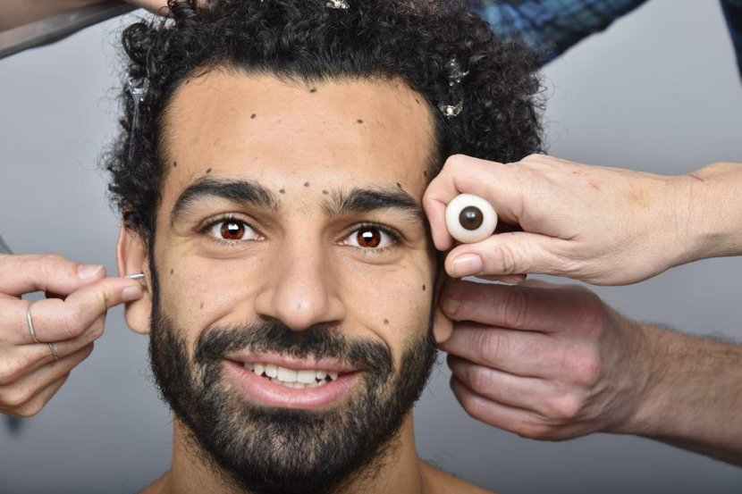 Mohamed Salah, Madame tussauds, Wax, Liverpool