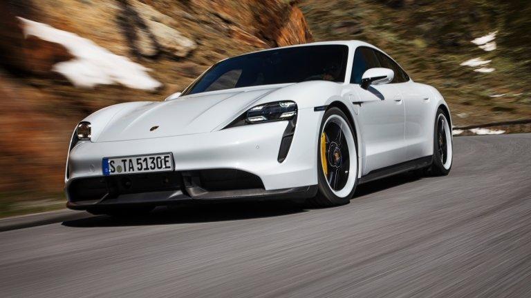 Porsche, Taycan, Electric cars, EV