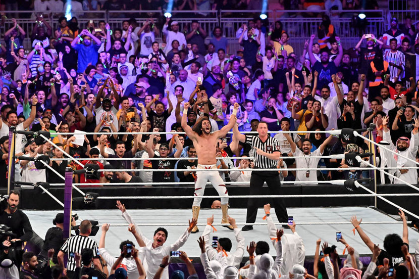 WWE, WWE SuperShowdown, Crown Jewel, Wrestling, Sports