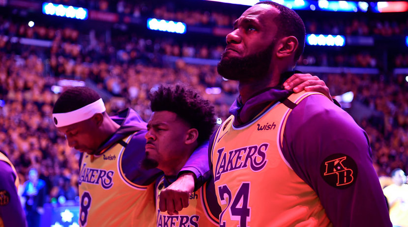 Kobe Bryant, LeBron James, Lakers, Kobe Bryant Helicopter death