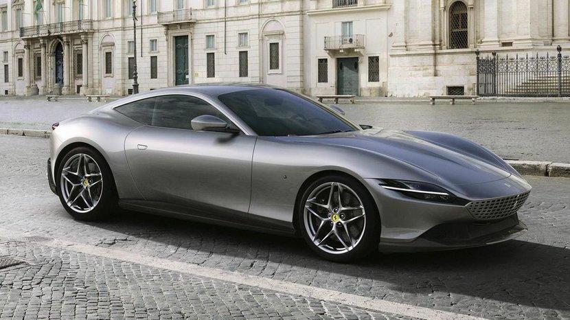 Ferrari, Ferrari Roma, FErrari new car, 2020 Ferrari Roma