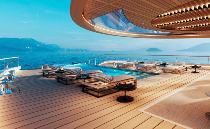 Aqua Superyacht, Bill Gates, Super yacht