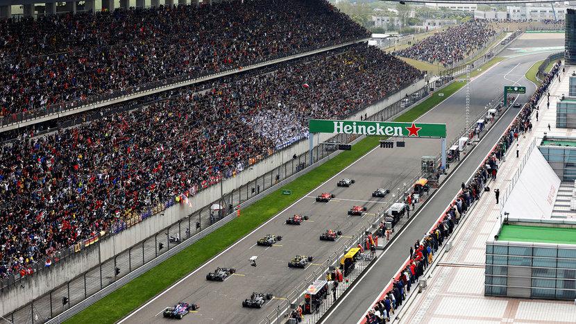 F1, Chinese Grand Prix, Coronavirus