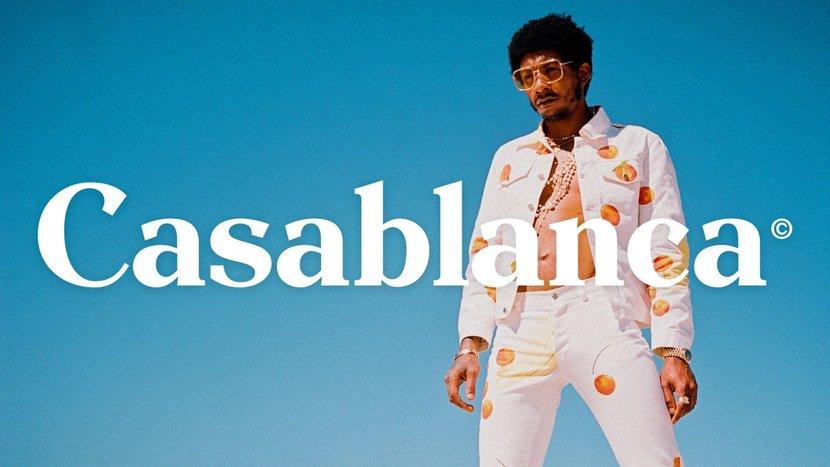Fashion, Men's fashion, French fashion, Casablanca, Graphics, LVMH