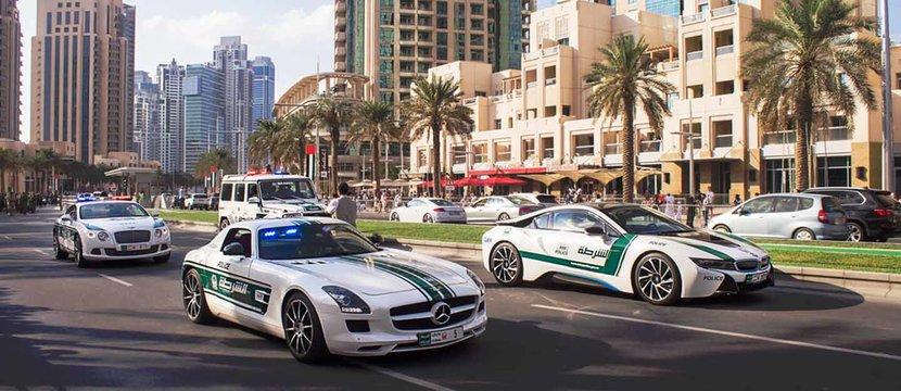 Dubai police, Police Car