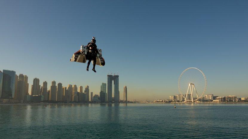 Jetman, Dubai, Jetman Dubai, Expo 2020, Sheikh Hamdan, Vince reffet, Ahmed al shehhi, Yves rossy, Human flight