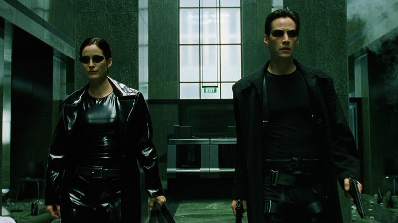 Matrix 4, Matrix 4 filming, Keanu Reeves, Carrie-Anne Moss