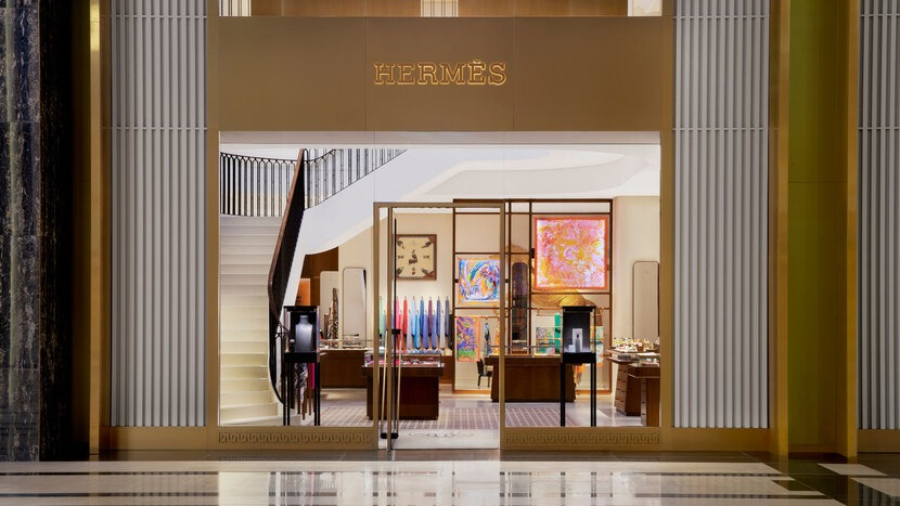Hermès Store opening in Kuwait
