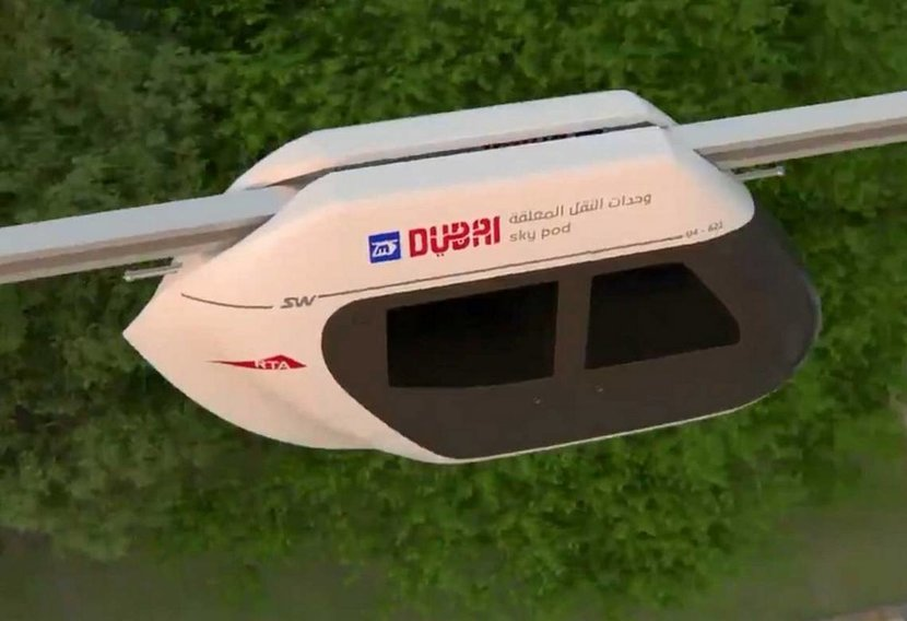 RTA, Sky pods, Dubai, MyDubai